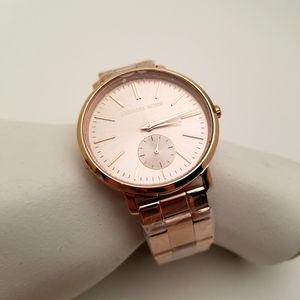 Michael Kors Rose Gold Watch Ladies New